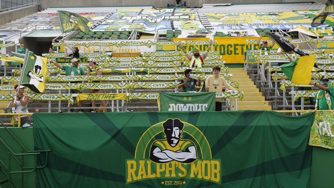 Torcida do Tampa Bay Rowdies